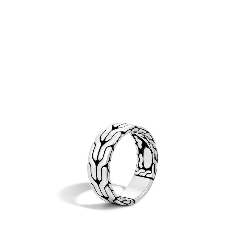 John Hardy Band Men Ring Size 10