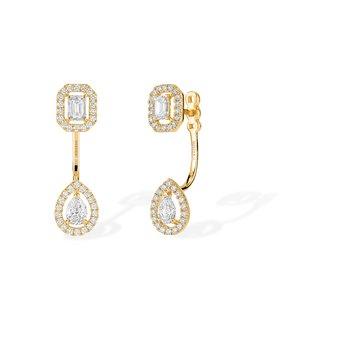 Earrings with Earjacket