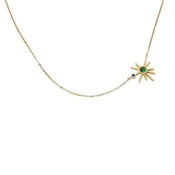 Buenos Días Mini Sun Necklace