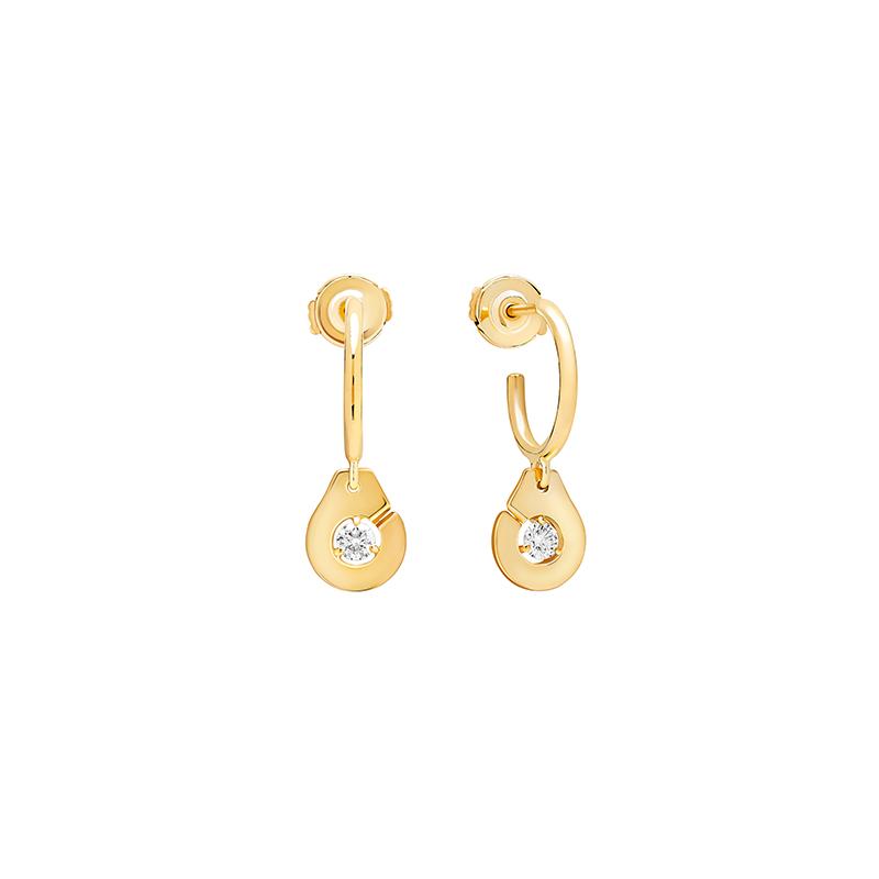 Dinh Van Hoop Earrings