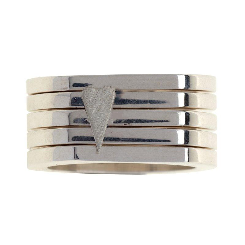 Franco Pianegonda Wide Band Ring Size 8