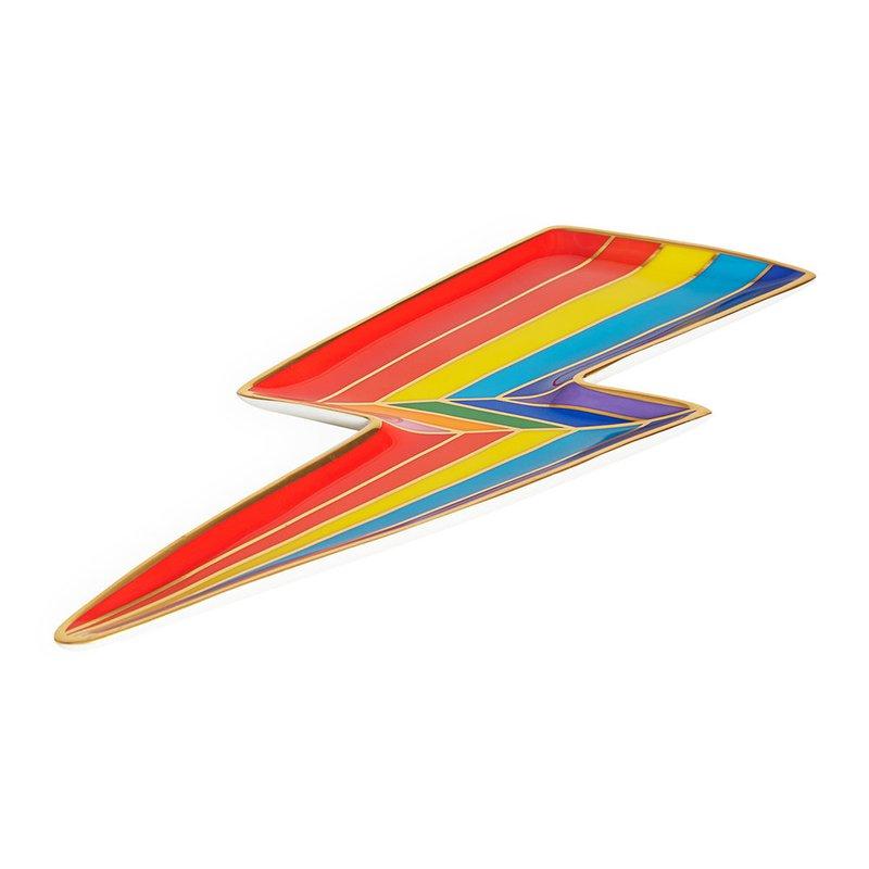JONATHAN ADLER Technicolor Ligthning Bolt Tray