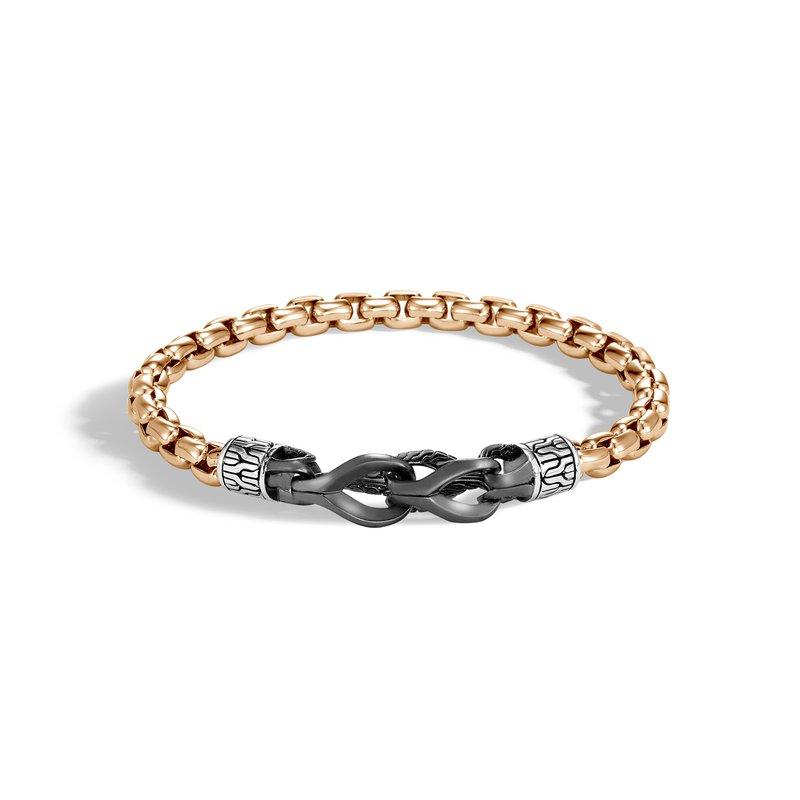 John Hardy Box Chain Bracelet Size Small