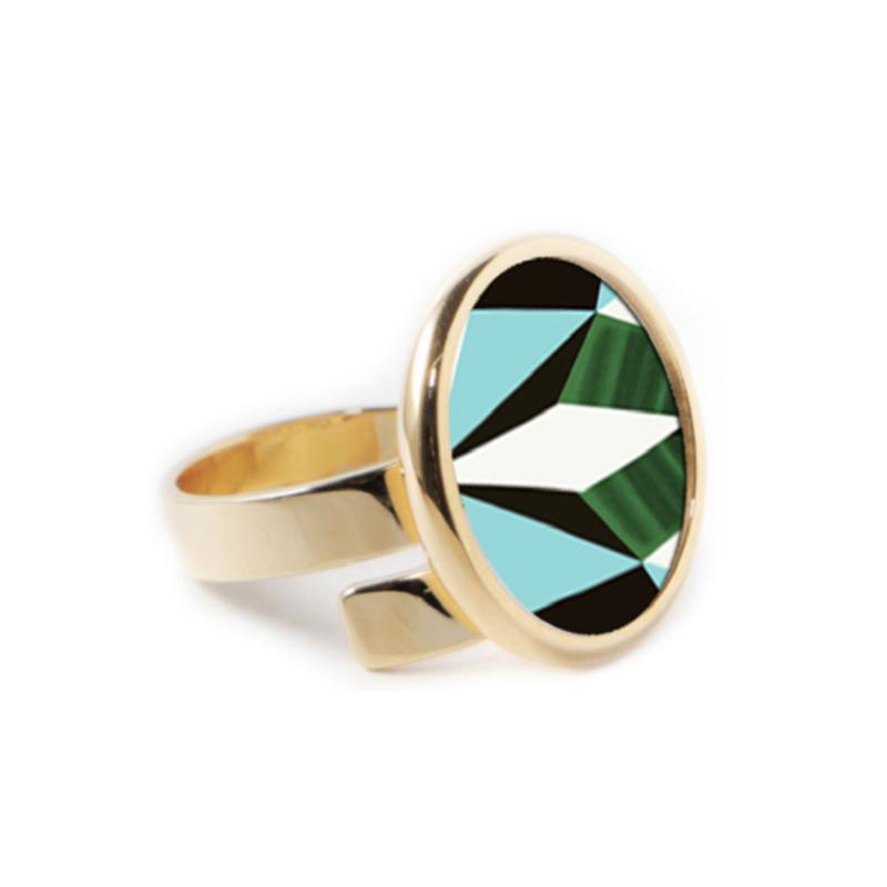 Anna Maccieri Rossi Mosaic Ring