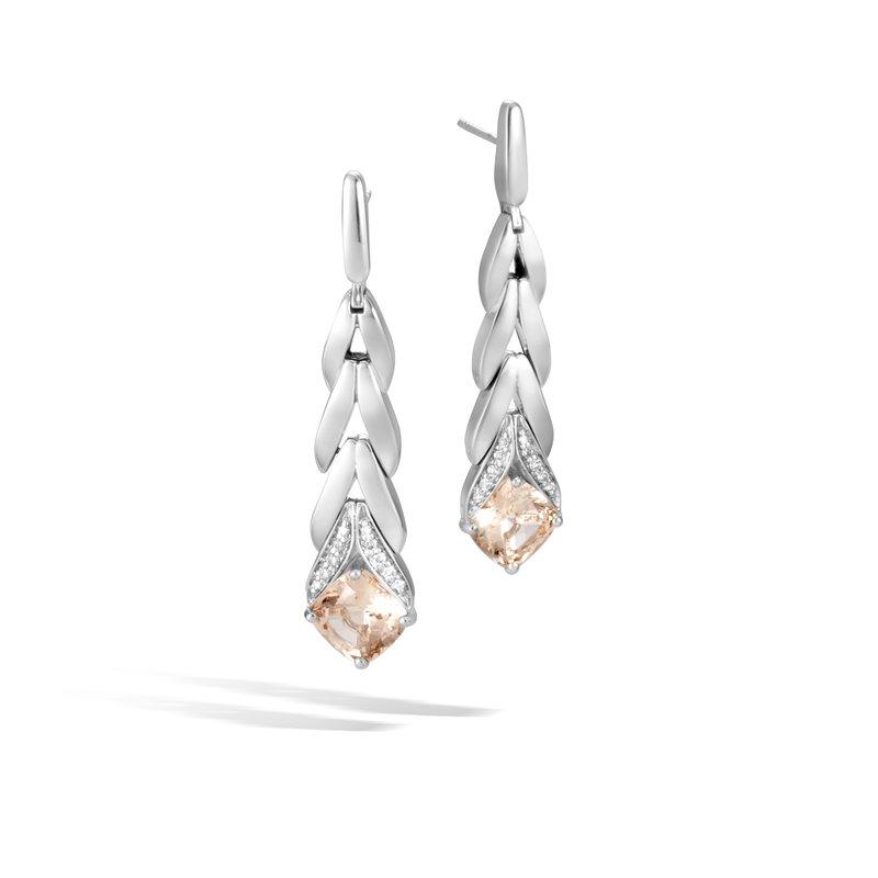 John Hardy Long Drop Earrings