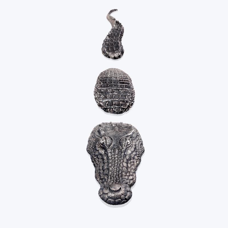 LOTUS Crocodile Sculpture