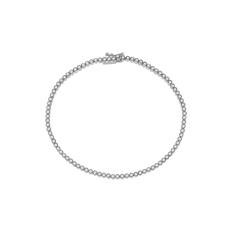 Kismet by Milka Rainbow Tennis Bracelet