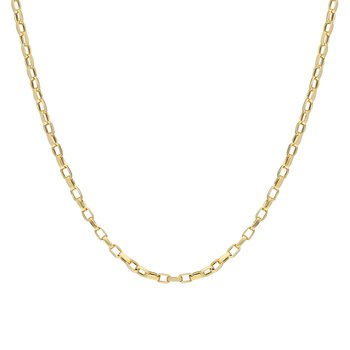 Medium Open Box Chain 20""