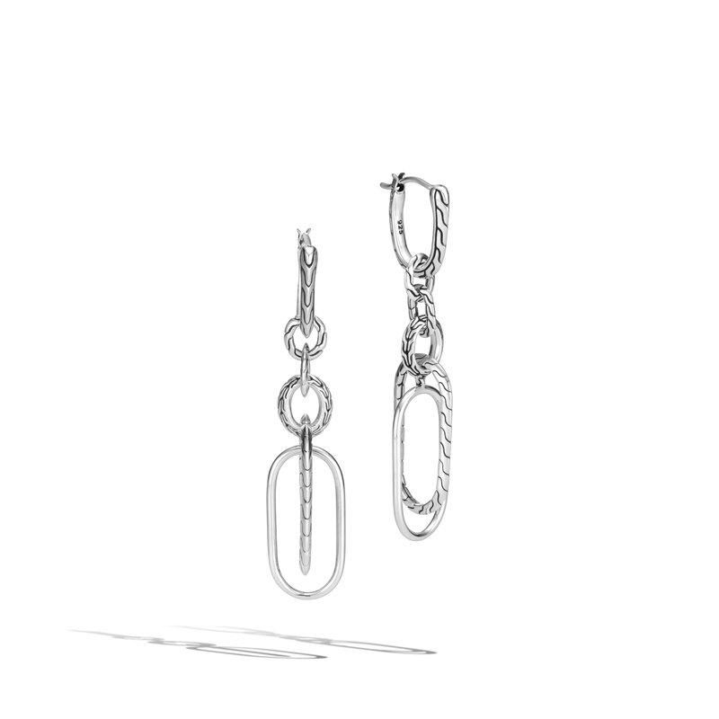 John Hardy Mismatched Drop Earrings