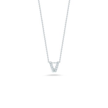 "Love Letter V Necklace Length 16"" adjustable to 18"""