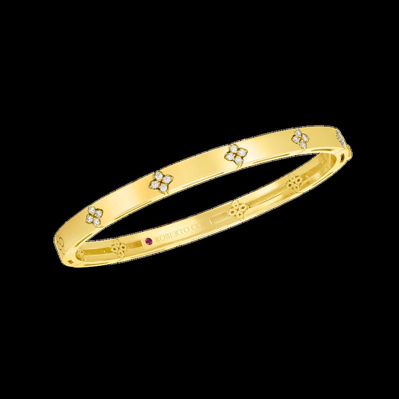 Roberto Coin Narrow Bangle Bracelet