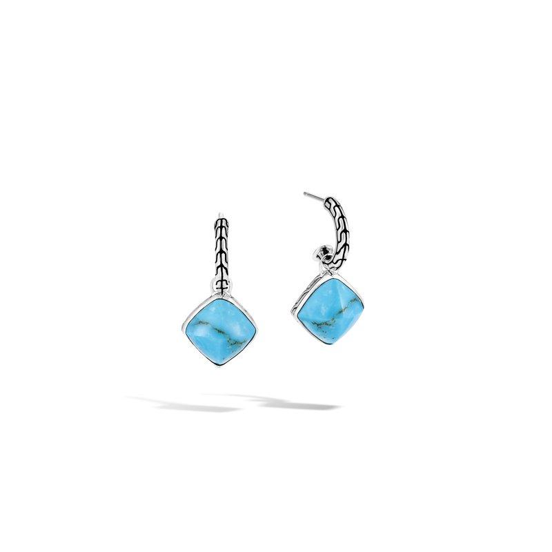 John Hardy Cluster Drop Earrings