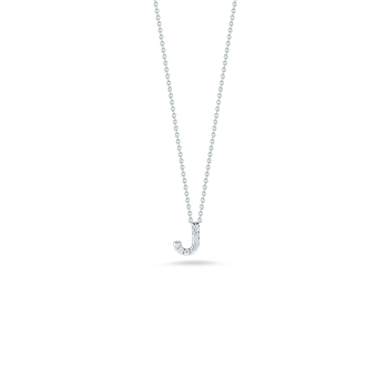 "Love Letter J Necklace Length 16"" adjustable to 18"""