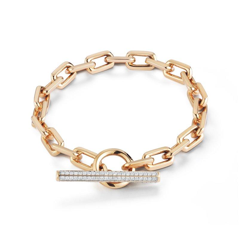"Walters Faith Toggle Chain Link Bracelet Length 6.5"""