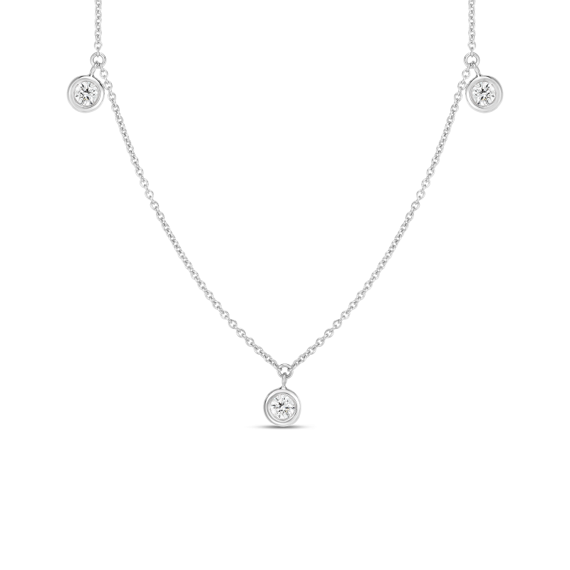 Roberto Coin Three Stations Necklace