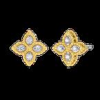 Roberto Coin Small Flower Stud Earrings