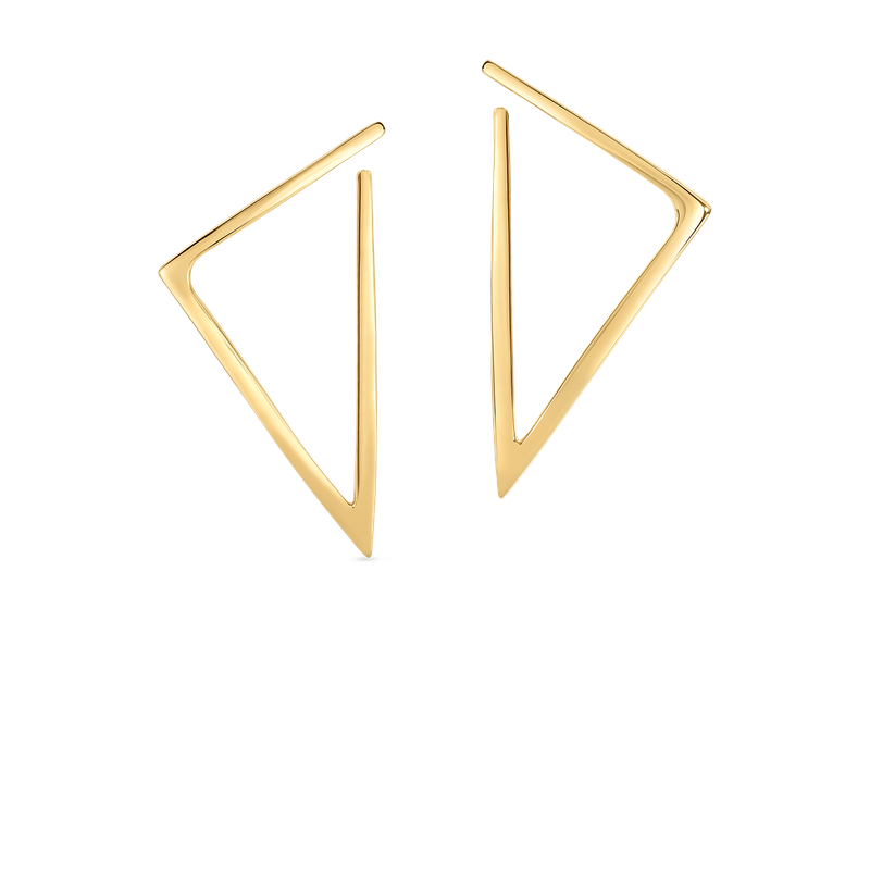 Roberto Coin Triangle Earrings