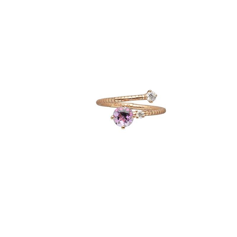 Mattia Cielo Adjustable Ring Size 7