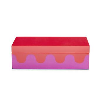 Small Ripple Lacquer Box