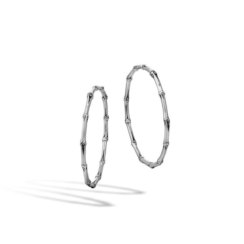 John Hardy Large Hoop Earrings Size 52mm