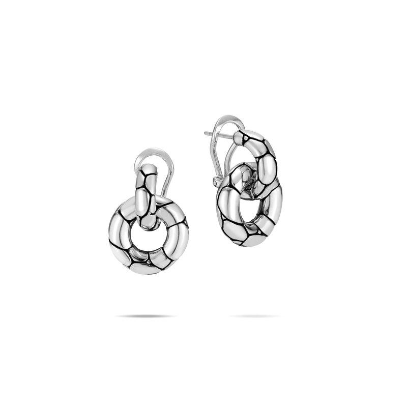 John Hardy Door Knocker Earrings