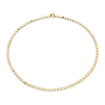 """Round XL Belcher Chain Length 22"""""""
