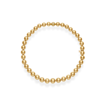Golden South Sea Pearl Strand Necklace