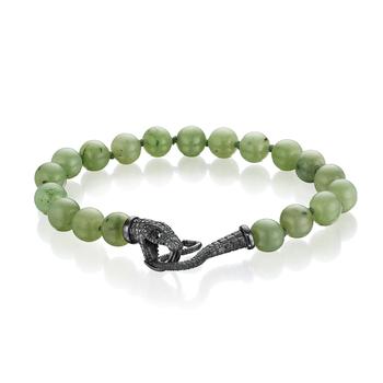 Serpent Bead Bracelet