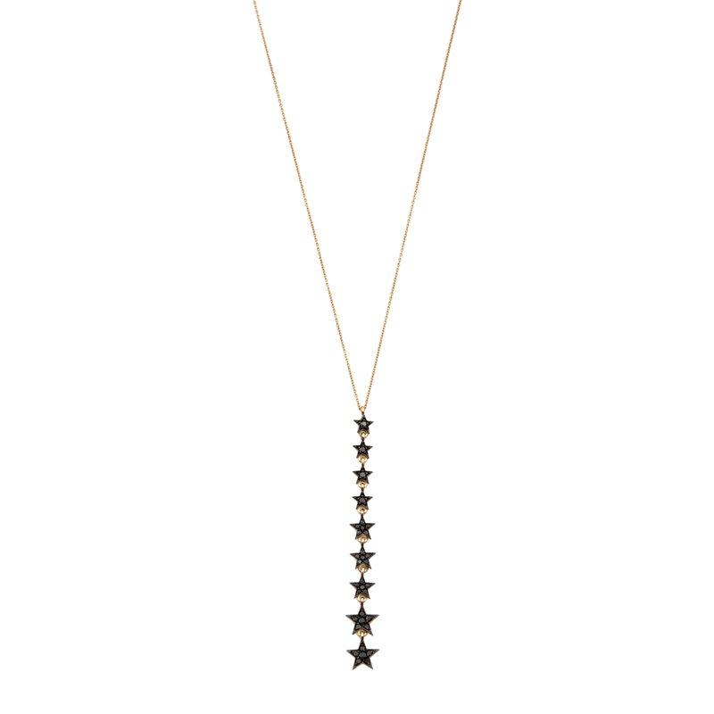 Kismet by Milka Long Star Necklace