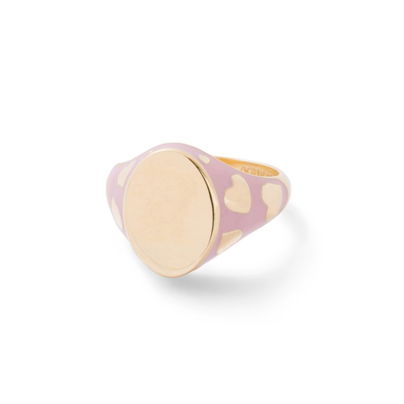 Alison Lou Signet Pinky Ring Size 4