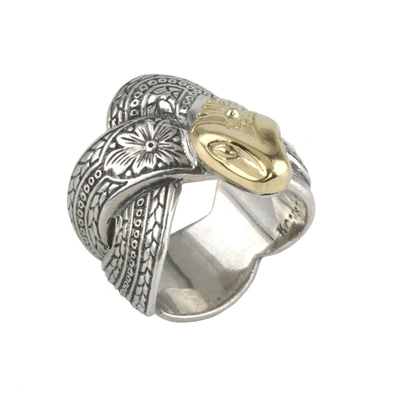 Konstantino Men's Serpent Ring