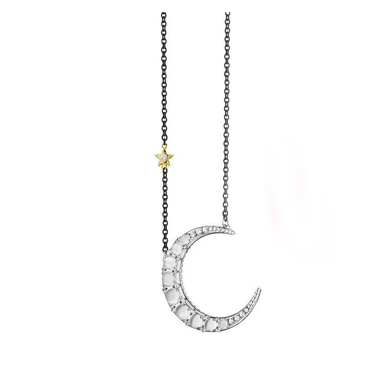 Monica Rich Kosann Crescent Moon Necklace