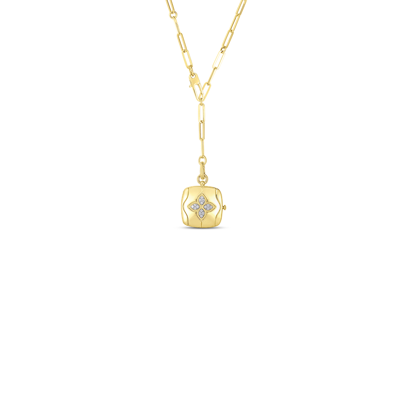 Roberto Coin Locket Necklace 19 Inches