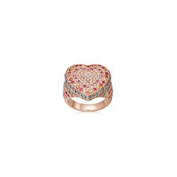 Heart Ring Size 8