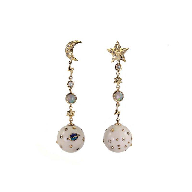 Bibi Van Der Velden Drop Earrings