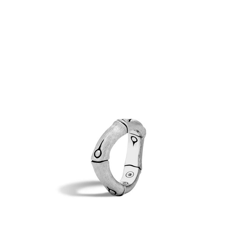 John Hardy Brushed Curved Ring Size 8