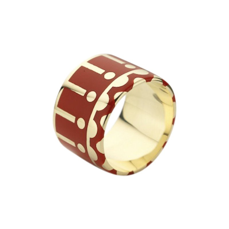 Alice Cicolini Wide Band Ring Size 8.5