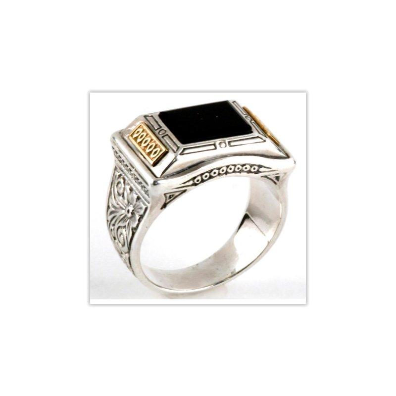 Konstantino Rectangle Ring Size 11