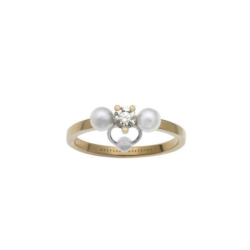 Delfina Delettrez Ring Size 6.50