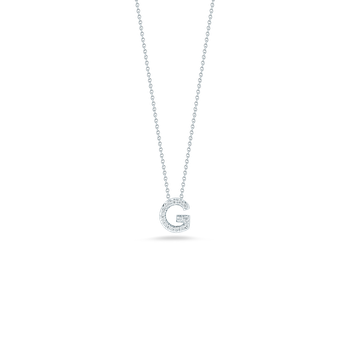 """Love Letter G Necklace Length 16"""" adjustable to 18"""""""