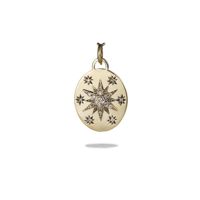 Suel Stellar Coin Pendant