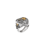 Konstantino Heart Ring Size 7