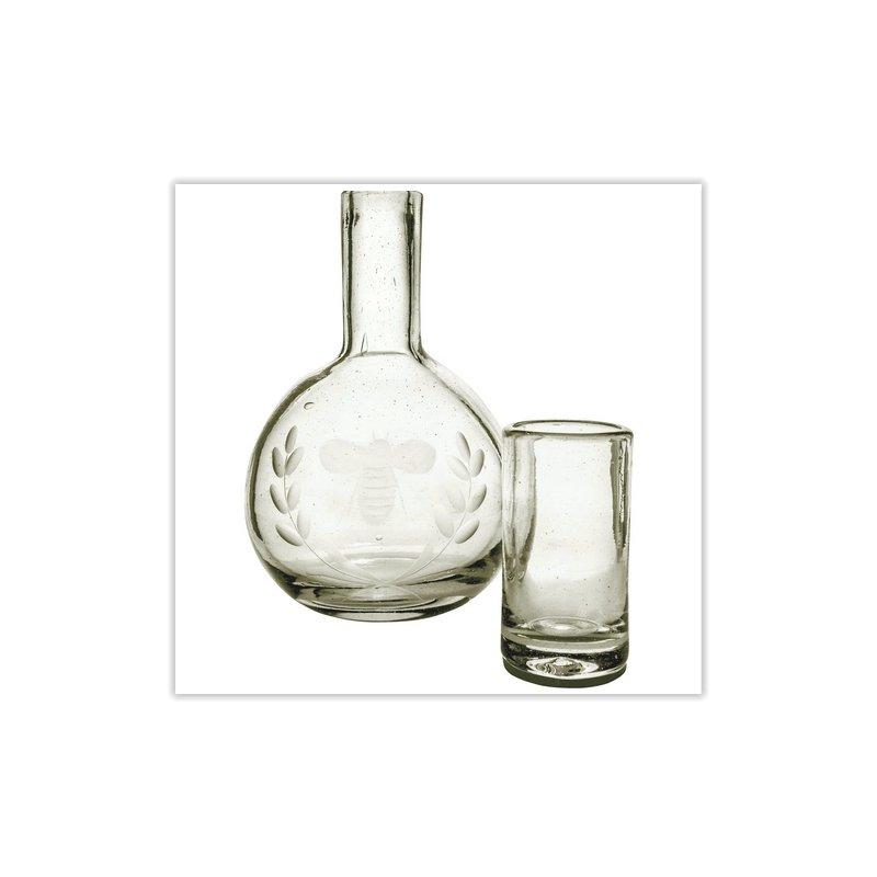 JAN BARBOGLIO Carafe & Glass