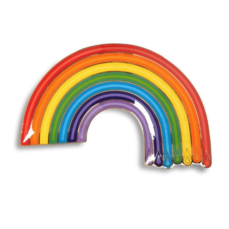 JONATHAN ADLER Dripping Rainbow Trinket Tray