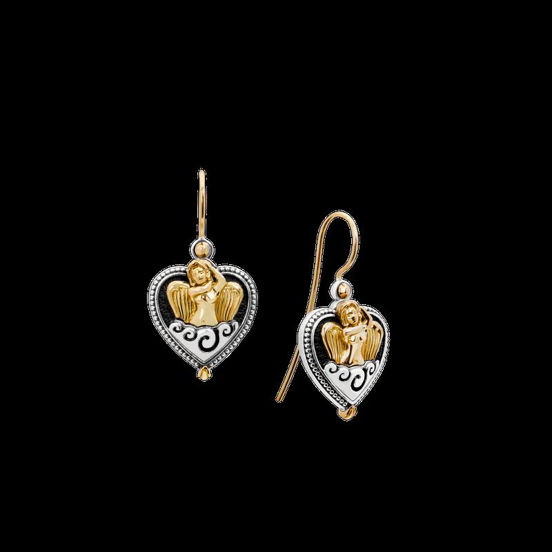 Konstantino Ethereal Heart Earrings