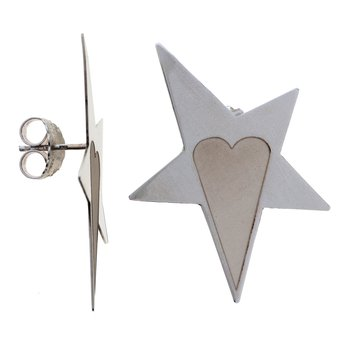 Star & Heart Small Earrings