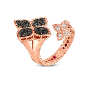 Two Flower Ring Size 6.5