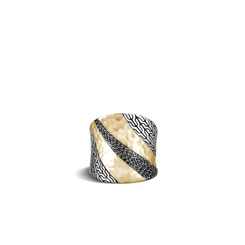 John Hardy Saddle Ring Size 8