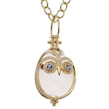 Owl Amulet Pendant