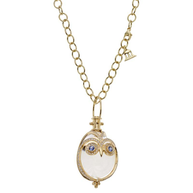 Temple St. Clair Owl Amulet Pendant